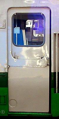 丸窓埋めドア-前